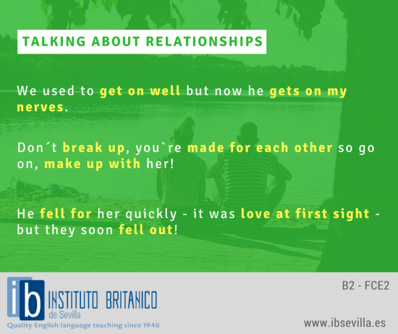 Talking about Relationships